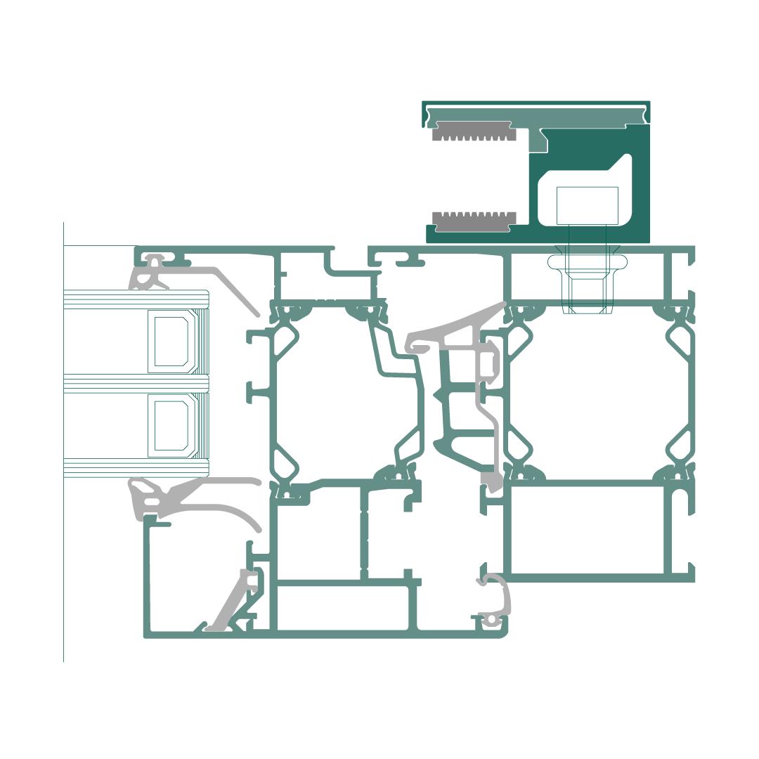 Prächtig SG Railing French – Französischer Balkon aus Glas – Details #NN_21